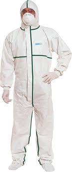 abbigliamento di protezione monouso
